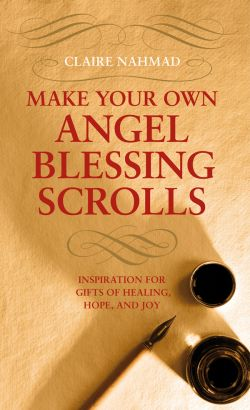 Angel Blessing Scrolls by Claire Nahmad