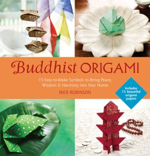 Use the art of origami to achieve Buddhist peacefulness