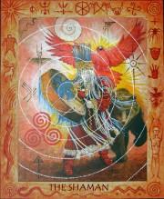 shaman with border