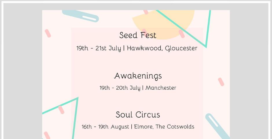 Watkins Publishing: Summer 2019 Events