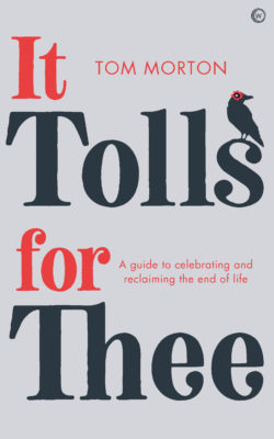 book cover it tolls for thee by tom morton