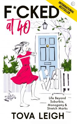 book cover of F*cked at 40 by Tova Leigh