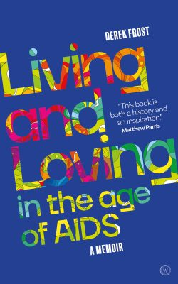 book cover living loving age of AIDS