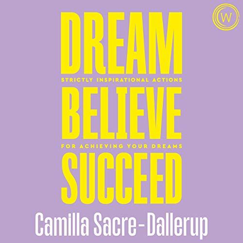 audiobook cover dream believe succeed