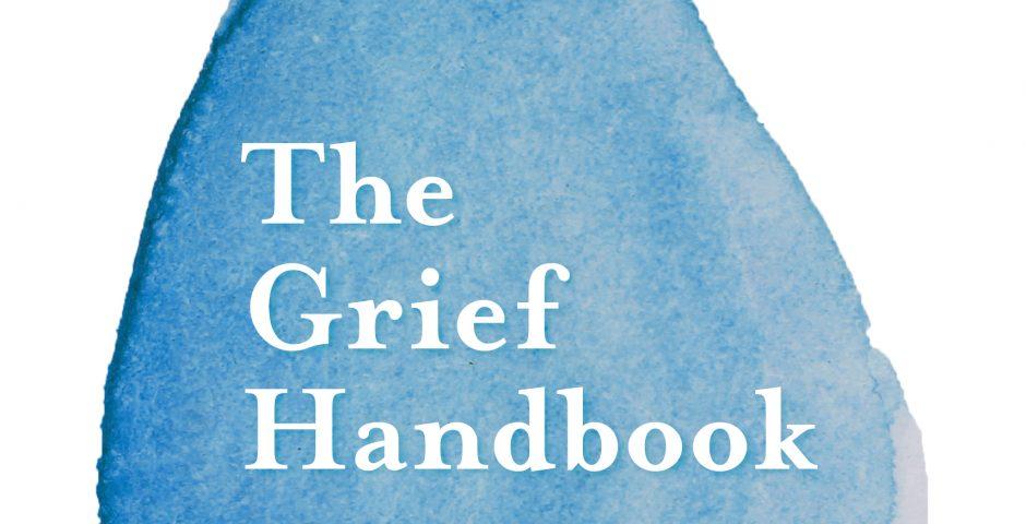 book cover the grief handbook by bridget mcnulty