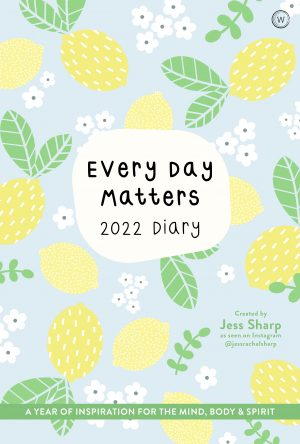 book cover every day matters 2022 desk diary