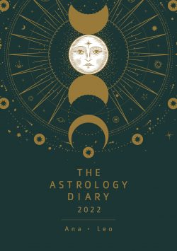 cover the astrology diary 2022 by Ana Leo