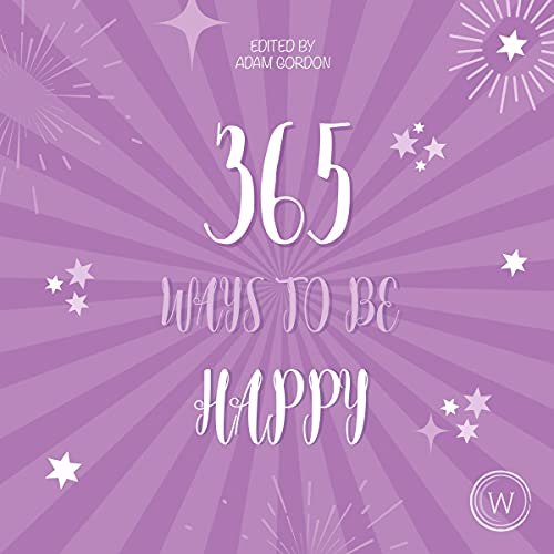 audiobook cover 365 ways to be happy