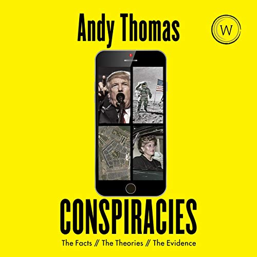 audiobook cover conspiracies by andy thomas