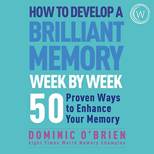 audiobook cover how to develop a brilliant memory