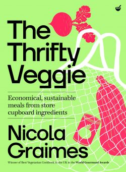 book cover the thrifty veggie by nicola graimes