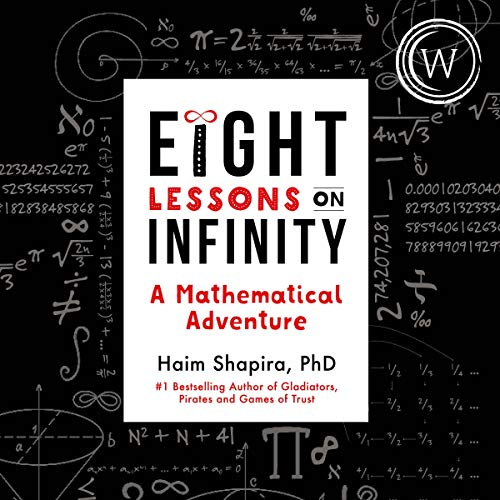 audiobook cover eight lessons on infinity by haim shapiro