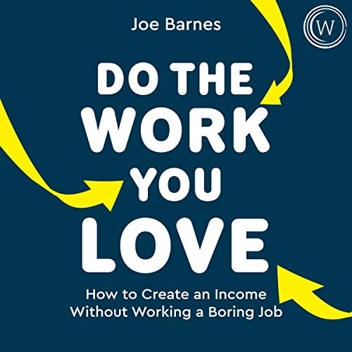 audiobook cover do the work you love
