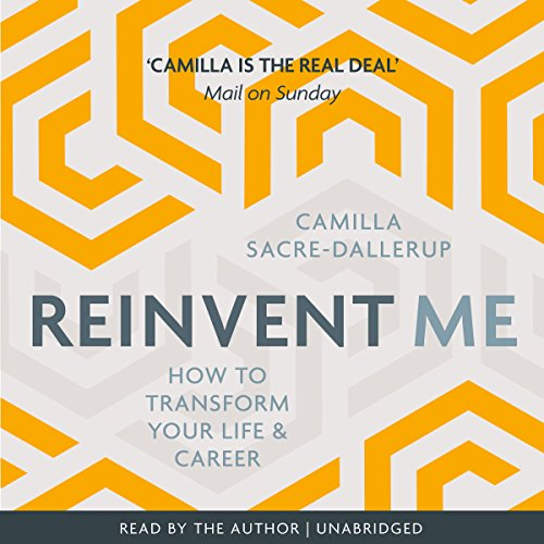 audiobook cover Reinvent Me