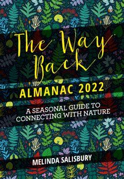 book cover The Way Back Almanack 2022 by Melinda Salisbury